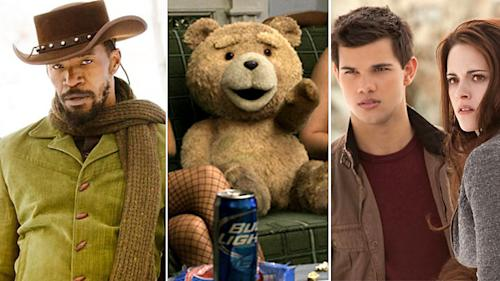 'Django Unchained' and 'Ted' lead the 2013 MTV Movie Awards nominations