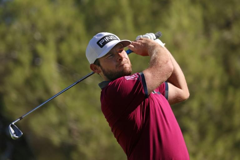 Hatton grabs first-round lead in US PGA CJ Cup at Shadow Creek