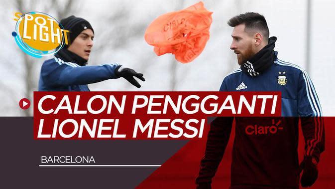 VIDEO: Paulo Dybala, Neymar, dan Para Pemain yang Mampu Gantikan Peran Lionel Messi di Barcelona
