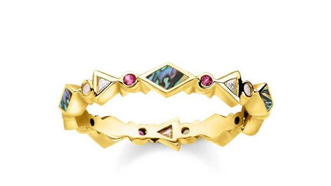 Colourful stone ring, from £149/dok. Thomas Sabo