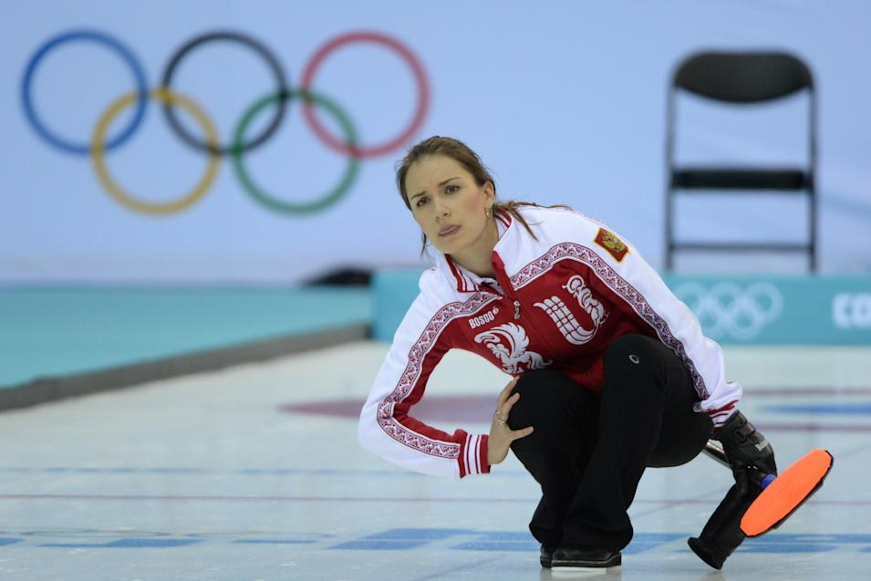 Olympics: Curling-Women's Round Robin Session 1