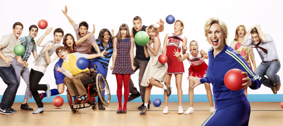 "Outstanding Comedy Series: ""Glee"""