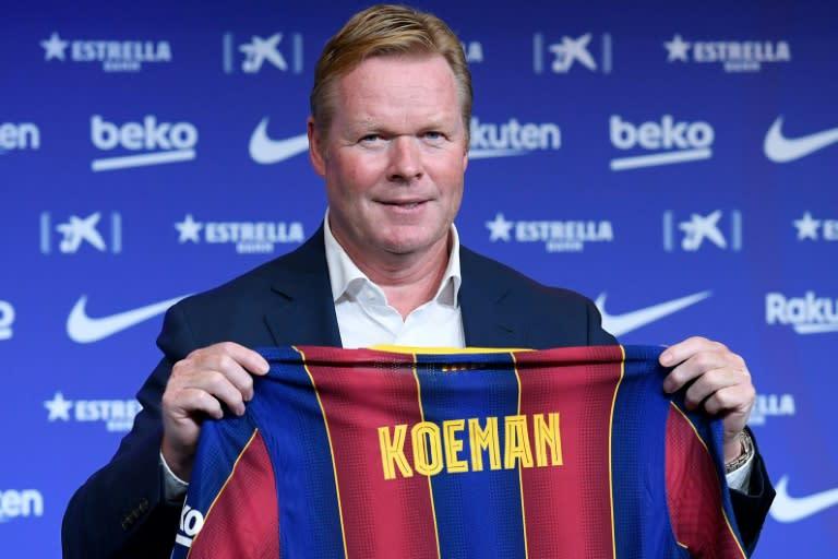 Koeman pledges to put Barca 'back on top'