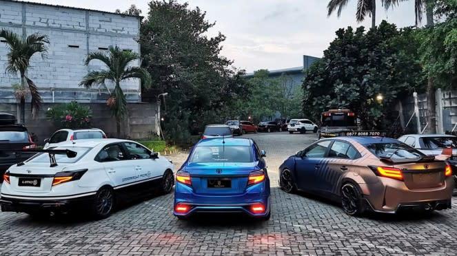 Modifikasi Toyota Limo eks taksi