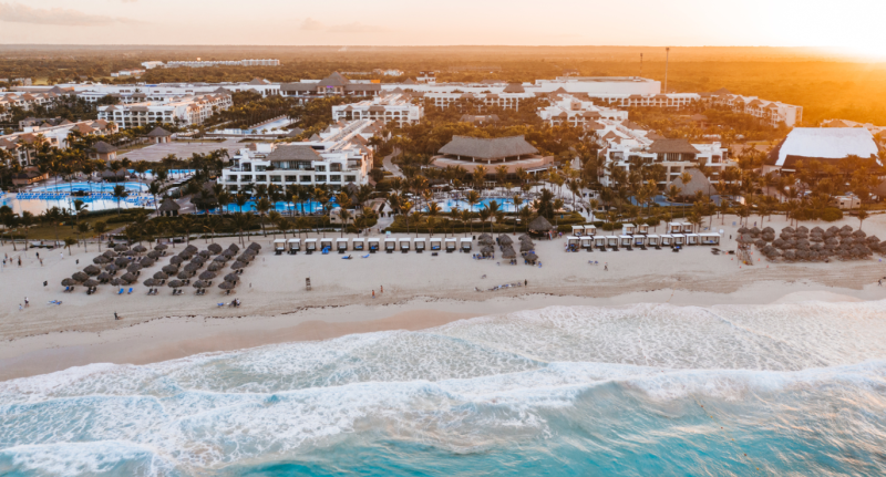 The group of seven students fell ill while staying at the Hard Rock Hotel & Casino in Punta Cana. Source: Google Maps/Hard Rock Hotel & Casino Punta Cana