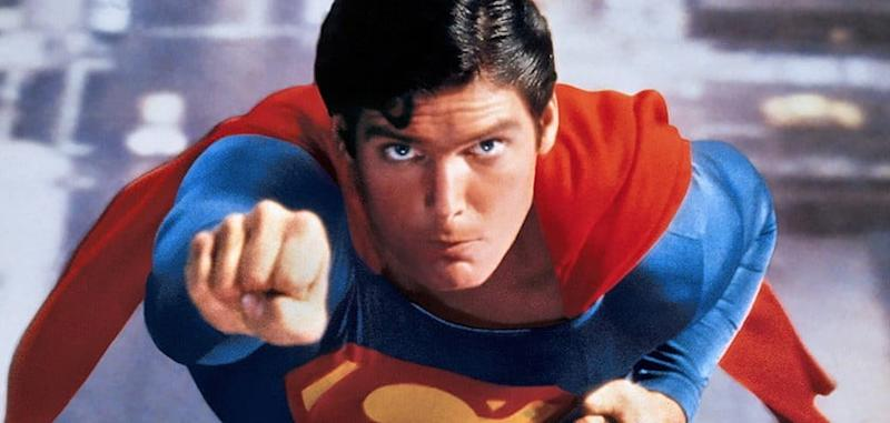 Christopher Reeve as Superman in 1978's Superman