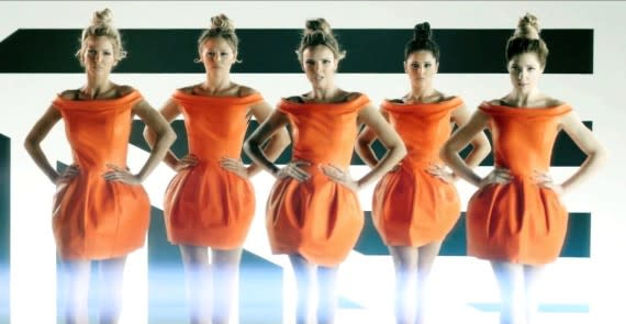 Girl Power! The U.K.'s Girls Aloud, Little Mix Release New Videos