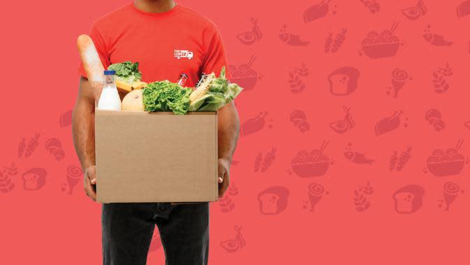 Biar kamu #dirumahaja danTheLorry Grocer yang akan membelikan belanjaan kebutuhanmu sesuai pesanan!