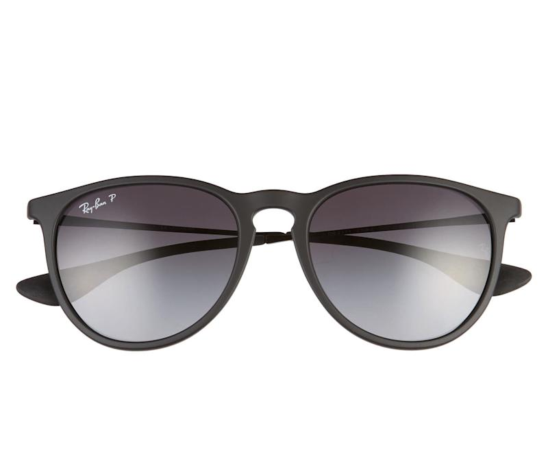 Ray-Ban Erika Classic 54mm Sunglasses. Image via Nordstrom.