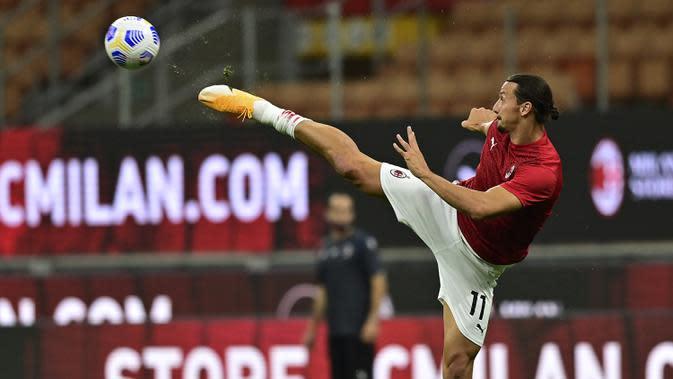 Liga Italia: Zlatan Ibrahimovic Berhasil Taklukkan Virus Corona