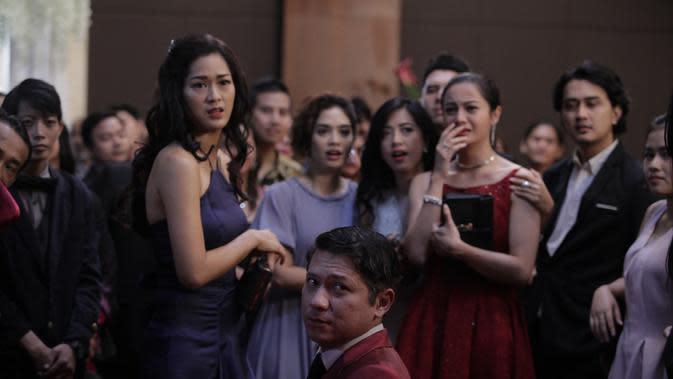 Prisia Nasution dalam film Temen Kondangan (Istimewa)