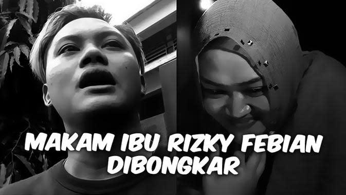 VIDEO TOP 3: Makam Ibunda Rizky Febian Dibongkar