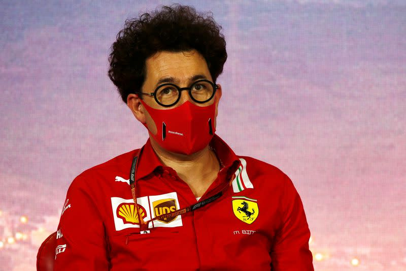 Binotto admits to questioning his role at suffering Ferrari