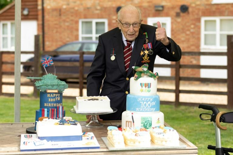 "In the midst of coronavirus gloom, ""Captain Tom"" Moore has lifted spirits in Britain with the runaway success of his fundraising efforts ahead of his 100th birthday"
