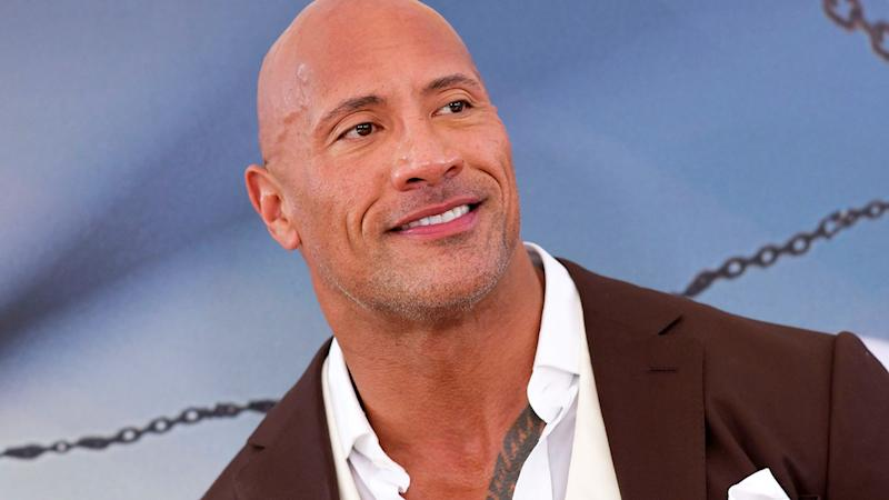 The Ruth Strauss tragedy reached Dwayne 'The Rock' Johnson. (Image: CHRIS DELMAS/AFP/Getty Images)