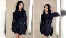 「反骨男孩」成員艾瑞絲透視戰服慶生 網友驚艷:好漂亮的黑特務