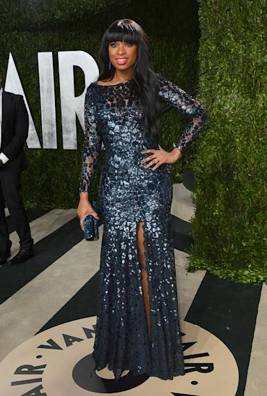2013 Vanity Fair Oscar Party Hosted By Graydon Carter - Arrivals: Jennifer Hudson