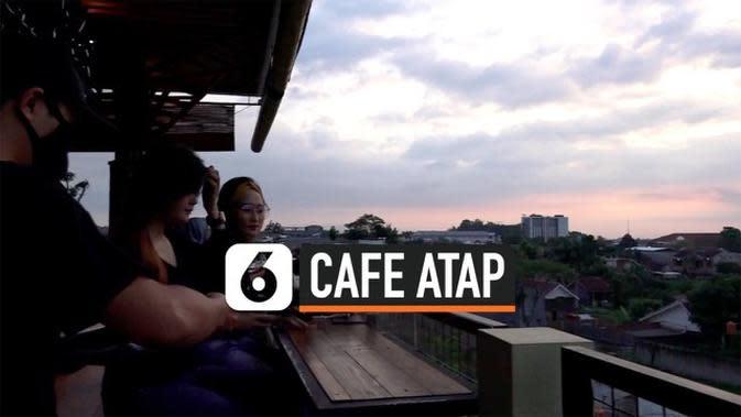 VIDEO: Menikmati Matahari Terbenam di Cafe Atap Gedung