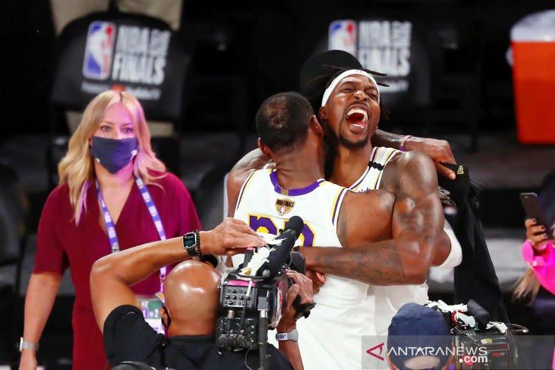 Puja puji untuk LeBron James saat Lakers juara NBA 2020