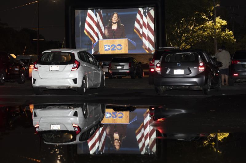APTOPIX Election 2020 DNC