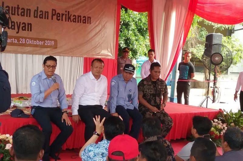 Menteri Edhy: KKP tidak akan berhenti perangi illegal fishing