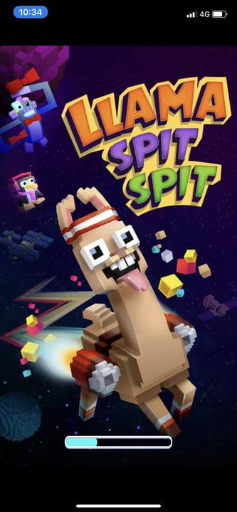 Llama Spit Spit free kids game for Android and iPhone