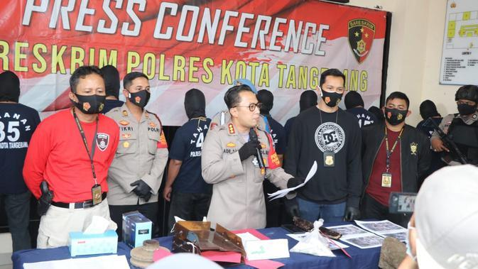 Polresta Tangerang Tetapkan 9 Tersangka Anarkis Saat Demo UU Cipta Kerja