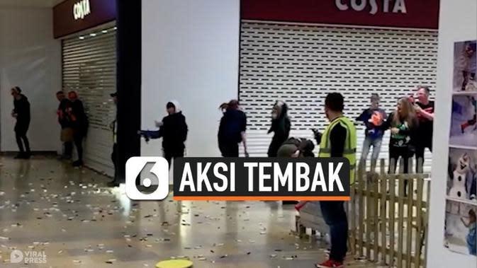 VIDEO: Aksi Tembak-Tembakan di Mal, Bikin Pengunjung Shock