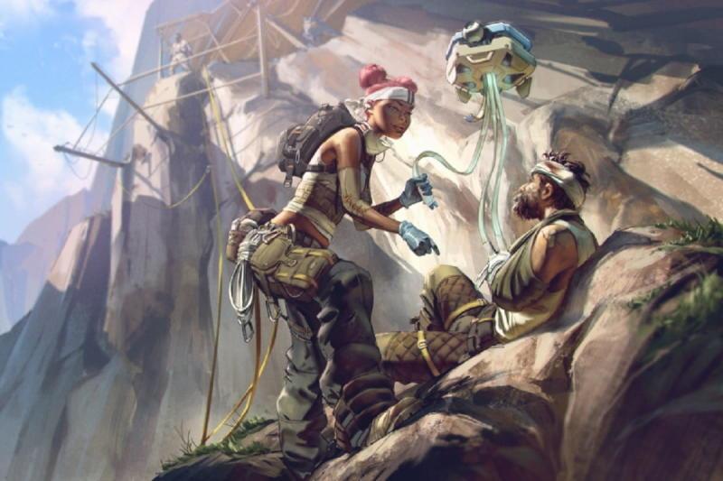 Apex Legends' lead game designer thinks Lifeline needs a 'sidegrade,' not a buff