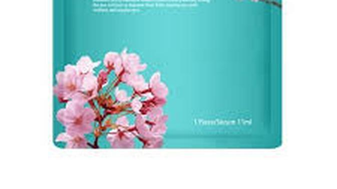 Unitouch Cherry Blossom Extract Bio-Cellulose Eye Mask