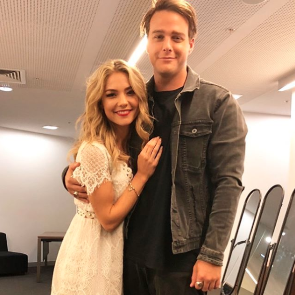 Sam Frost has teased Home and Away fans about her character's new romance with Tim Franklin. Source: Instagram/fro01