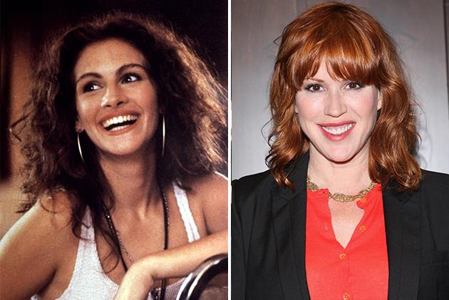 Julia Roberts and Molly Ringwald