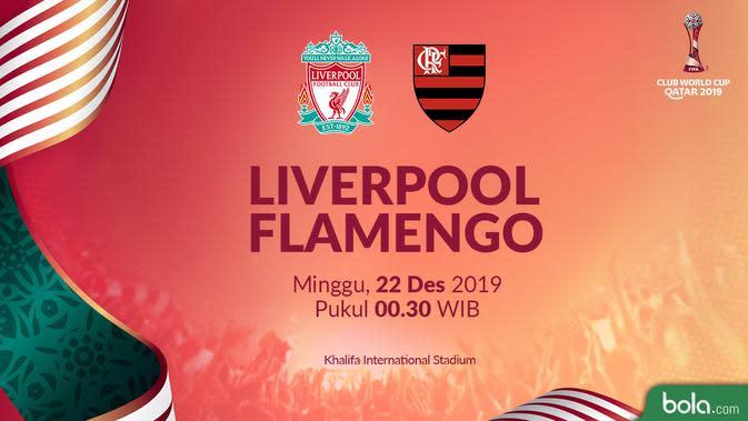 Live Streaming SCTV Final Piala Dunia Antarklub 2019: Liverpool Vs Flamengo di Vidio.com