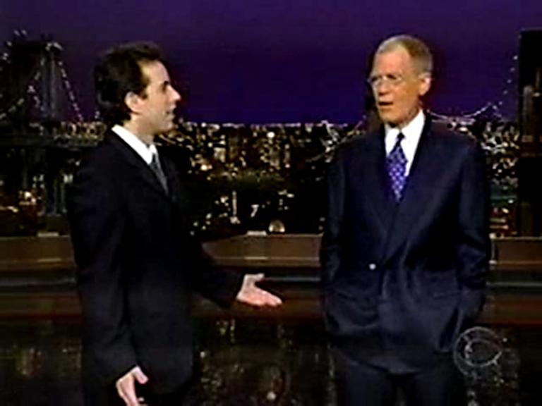 20 Classic 'Late Show' Moments We're Glad We Stayed Up For: His return to the show after a quintuple bypass in 2000