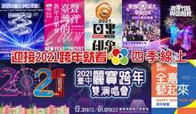 【懶人包】2020跨年、2021元旦趴全攻略!巨星歌手蕭敬騰、楊丞琳、畢書盡、Ella陪你迎接新年