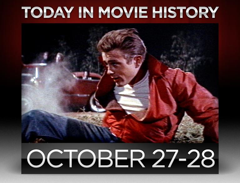 today in movie history, october 27, october 28