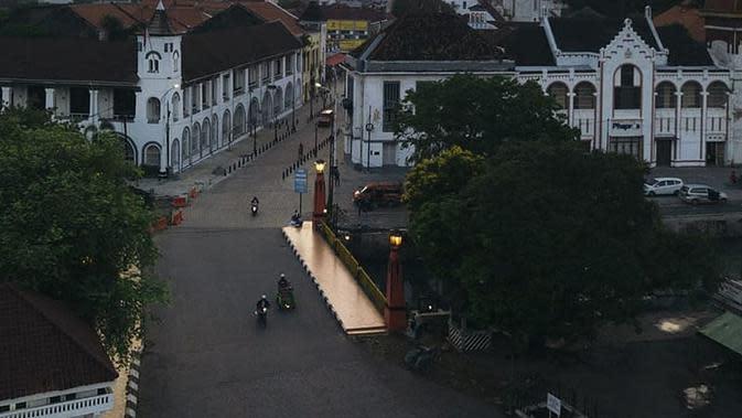 Kota Lama, wisata di Semarang yang Populer. (dok. Instagram @semarangpemkot/https://www.instagram.com/p/B7UgKWmnfd7//Adhita Diansyavira)
