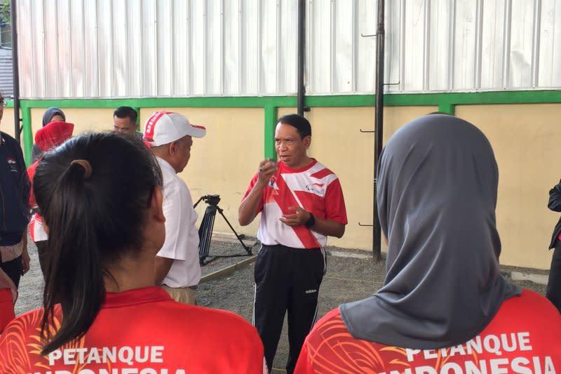 Menpora ingin lebih banyak turnamen petanque digelar di Indonesia