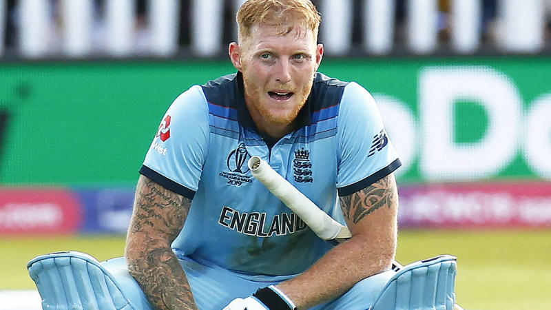 Ben Stokes in action for England during the World Cup final, where they beat New Zealand. (Photo by Action Foto Sport/NurPhoto via Getty Images)