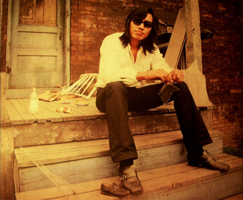 "FILE - This undated publicity photo released by courtesy Sony Pictures Classics shows Rodriguez in a scene from the documentary film, ""Searching for Sugar Man."" (AP Photo/Courtesy Sony Pictures Classics, Hal Wilson, File)"