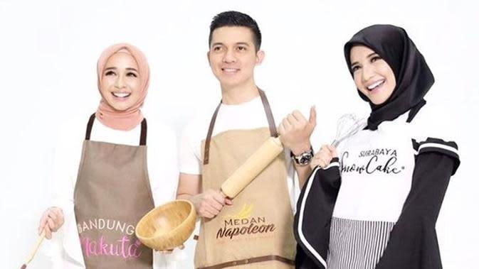 Laudya Cynthia Bella, Irwansyah dan Zaskia Sungkar [foto: www.instagram.com/laudyacynthiabella]