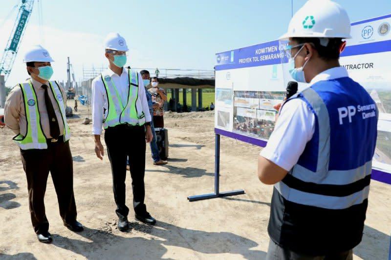 Pembangunan Tol Semarang-Demak Seksi II capai 8 persen