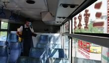 防疫二級警戒 公車加密每班次清消作業