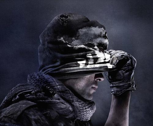 "This undated publicity photo released by Activision shows concept art for the cover of the video game, ""Call of Duty: Ghosts."" The video game publisher, Activision, announced Tuesday, April 30, 2013, the next installment in its successful ""Call of Duty"" franchise will be called ""Call of Duty: Ghosts"" and feature a new story and characters. (AP Photo/Activision)"