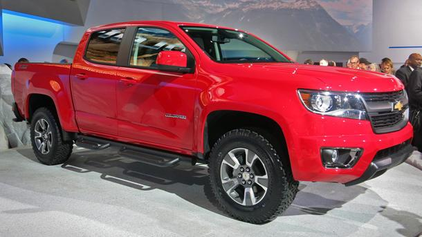 2015 Chevrolet Colorado tries to bring style back to pickups