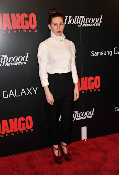 "The Weinstein Company With The Hollywood Reporter, Samsung Galaxy And The Cinema Society Host A Screening Of ""Django Unchained""  - Arrivals"