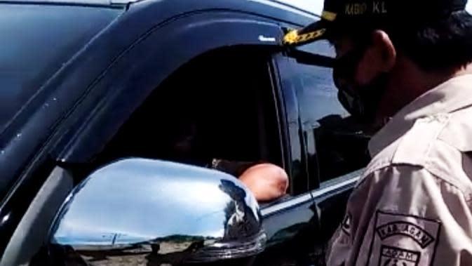 Ulah Oknum DPRD Pasaman Memaki Petugas PSBB dengan Kata-Kata Kotor