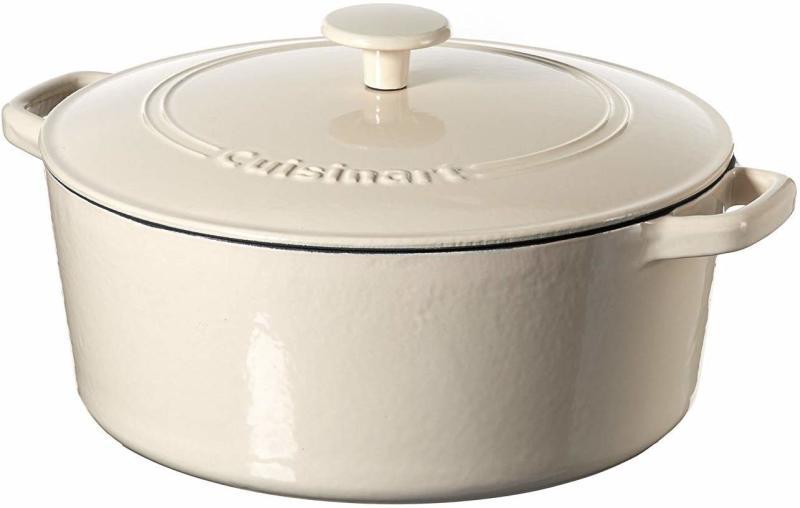"Cuisinart 12"" Chicken Fryer Cast Iron, Cream. (Photo: Amazon)"