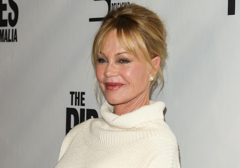"""HOLLYWOOD, CA - DECEMBER 06: Actress Melanie Griffith attends the premiere of """"The Pirates Of Somalia"""" at The TCL Chinese 6 Theatres on December 6, 2017 in Hollywood, California. (Photo by Paul Archuleta/FilmMagic)"""