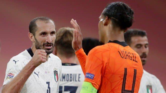 Prediksi Pertandingan Menghibur Italia Vs Belanda